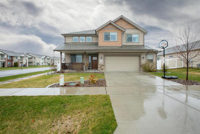 Coeur D'alene Single Family Home For Sale: 7560 N Downing Ln