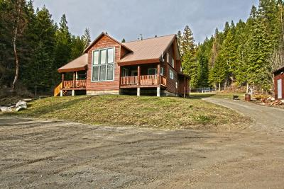 Bonners Ferry Single Family Home For Sale: 3509 Fleming Creek Rd