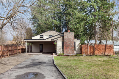 Coeur D'alene Single Family Home For Sale: 326 N 16th St