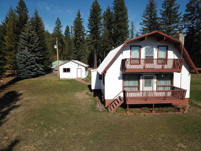 Priest River Single Family Home For Sale: 2761 Hoodoo Mountain Rd