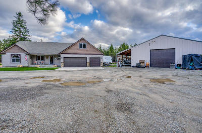 Rathdrum Single Family Home For Sale: 21117 N Wandering Pines Rd