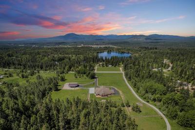 Hayden, Hayden Lake Single Family Home For Sale: 21776 N Rimrock Rd