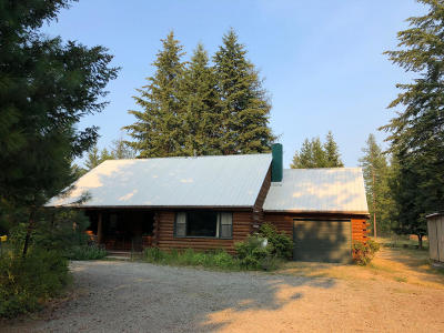 Bonners Ferry Single Family Home For Sale: 187 Split Rock Rd