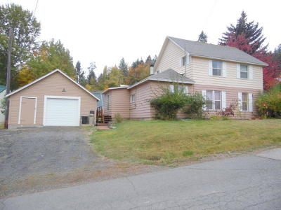 St. Maries ID Single Family Home For Sale: $125,000