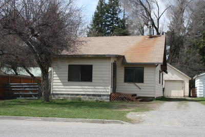 Coeur D'alene Single Family Home For Sale: 309 N 18th St