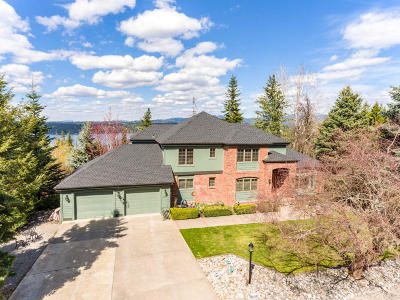 Coeur D'alene, Dalton Gardens Single Family Home For Sale: 3549 E Lookout Dr