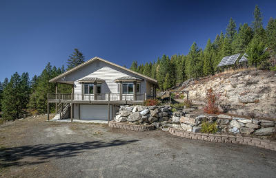 Athol Single Family Home For Sale: 2355 Kelso Lake Rd