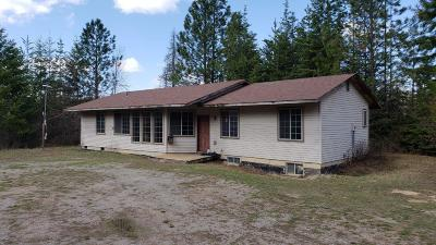 Hayden, Hayden Lake Single Family Home For Sale: 15605 N Boot Hill Rd