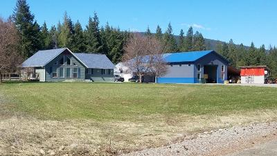 Bonners Ferry Single Family Home For Sale: 181 Gem Parks Rd