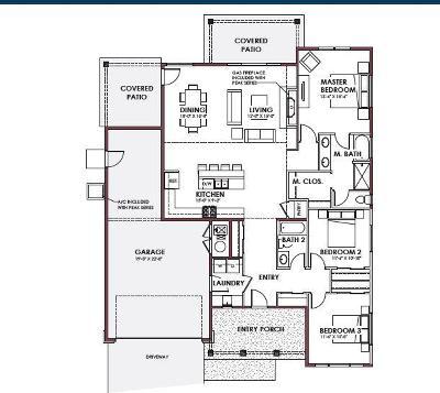 Post Falls Single Family Home For Sale: 2216 E Warbler Lane