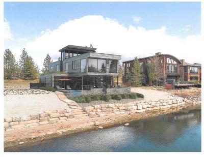 Kootenai County Single Family Home For Sale: Lot 2 W. Bellerive Lane