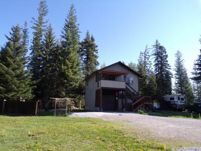 Sandpoint Single Family Home For Sale: 487386 Us-95