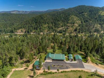 Shoshone County Single Family Home For Sale: 5717 Wapiti Lane