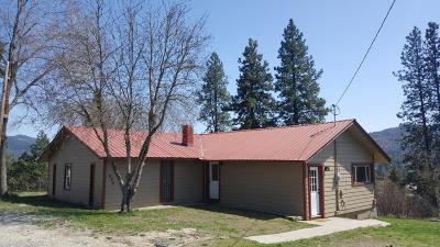 Priest River Single Family Home For Sale: 492 E Jackson