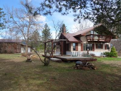Priest River Single Family Home For Sale: 786 Bear Rd.