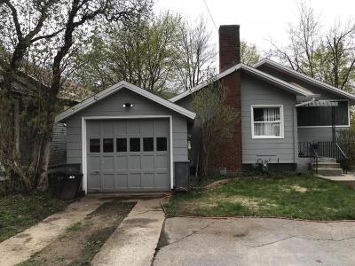 Kellogg Single Family Home For Sale: 217 W Elder Ave