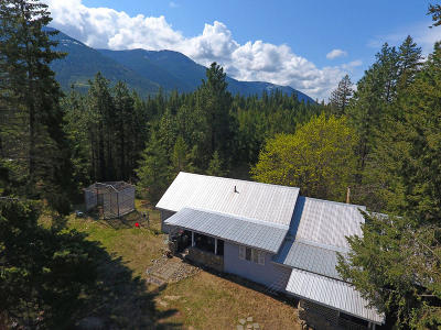 Bonners Ferry Single Family Home For Sale: 51 Clifty View Rd