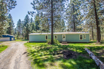 Bonner County, Kootenai County Single Family Home For Sale: 22111 S Coyote Trl