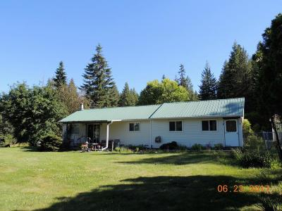 St. Maries Single Family Home For Sale: 11511 Hwy 5