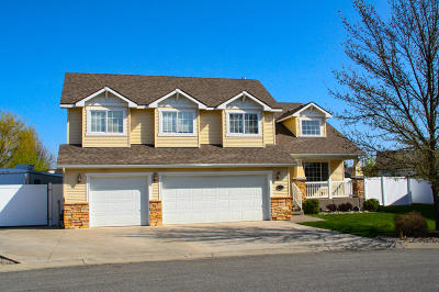 Post Falls Single Family Home For Sale: 1529 W Coquille Ct