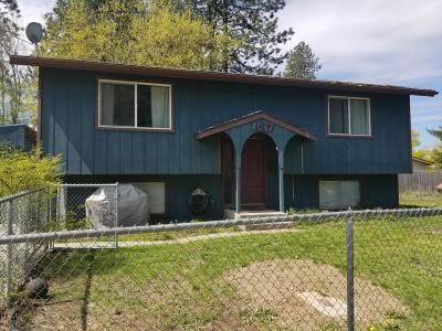 Coeur D'alene Single Family Home For Sale: 1047 N 17th St