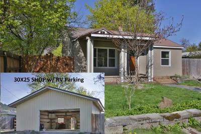 Coeur D'alene Single Family Home For Sale: 1211 N 14th St
