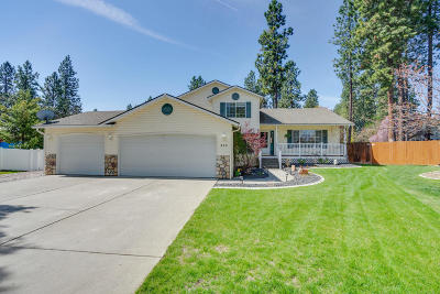 Post Falls Single Family Home For Sale: 410 S Showboat Ct