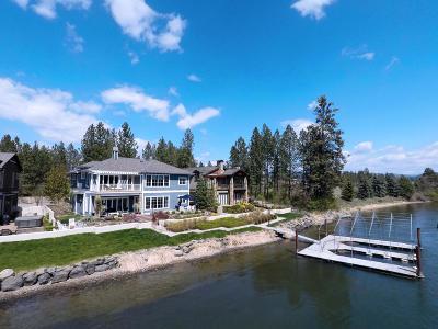 Kootenai County Single Family Home For Sale: 3606 W Shoreview Ln