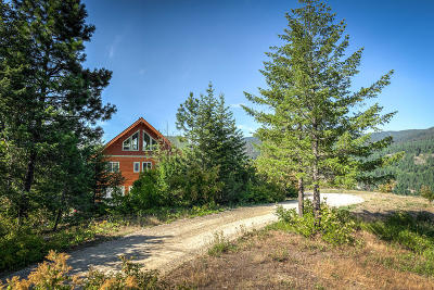 Sandpoint Single Family Home For Sale: 700 Caribou Creek Rd