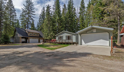 Priest Lake Single Family Home For Sale: 318 Outlet Bay Rd