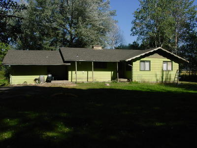 St. Maries Single Family Home For Sale: 91225 N. Highway 3