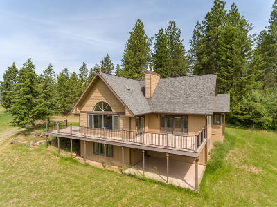 Coeur D'alene, Dalton Gardens Single Family Home For Sale: 14793 W Frost Rd