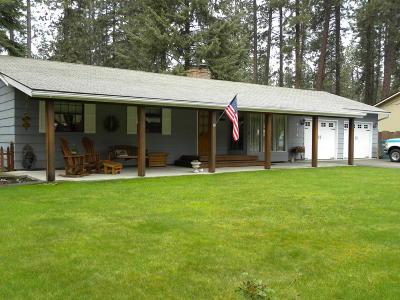 Hauser Lake, Post Falls Single Family Home For Sale: 414 S Ponderosa Loop