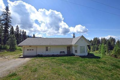 Hayden Single Family Home For Sale: 17126 E Hayden Lake Rd