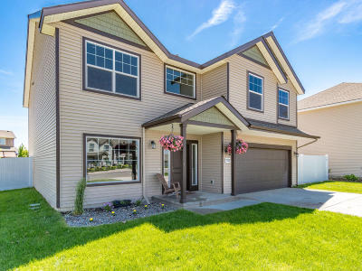 Coeur D'alene Single Family Home For Sale: 7352 N Downing Ln