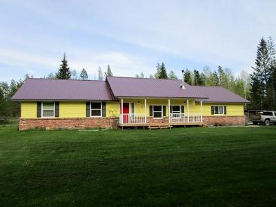 Sandpoint Single Family Home For Sale: 479663 Hwy 95