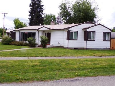 Bonners Ferry Single Family Home For Sale: 6938 Cody St