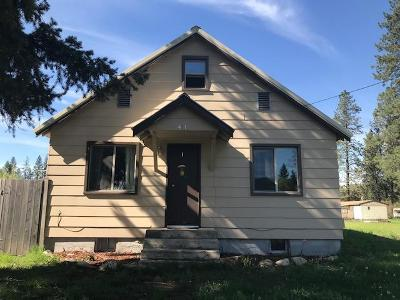 Priest Lake, Priest River Single Family Home For Sale: 471 E Jefferson