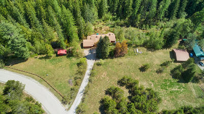 Sandpoint Single Family Home For Sale: 164 Meadowlark Ln