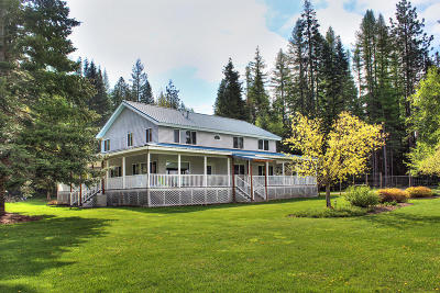 Sandpoint Single Family Home For Sale: 211 Grouse Creek Rd