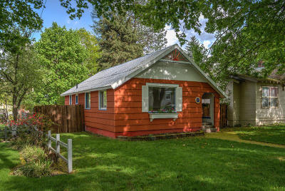 Coeur D'alene Single Family Home For Sale: 312 S 16th St