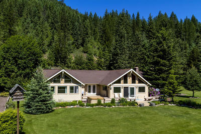 Sandpoint Single Family Home For Sale: 775 Lower Pack River Rd