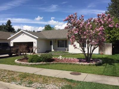 Coeur D'alene Single Family Home For Sale: 1307 W Centennial Pl