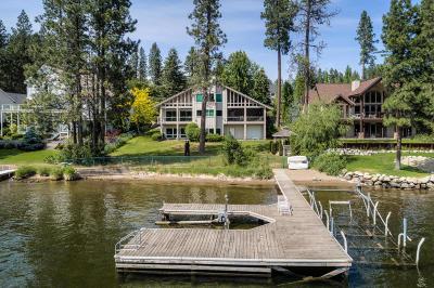 Kootenai County Single Family Home For Sale: 5341 E Shoreline Dr