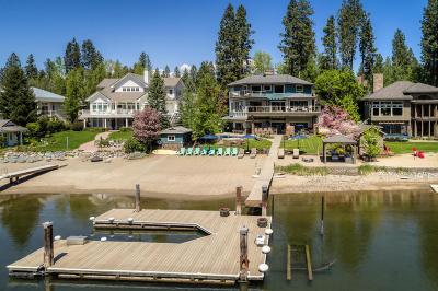 Post Falls Single Family Home For Sale: 5729 E Shoreline Dr