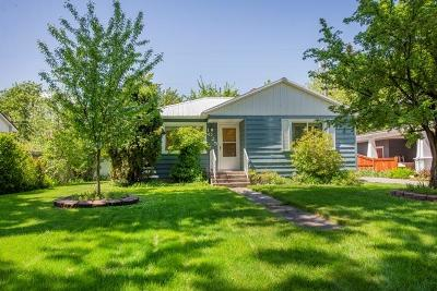 Coeur D'alene Single Family Home For Sale: 1025 N 8th St
