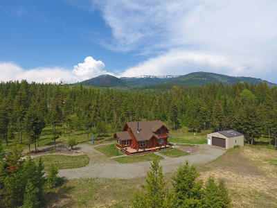 Bonners Ferry Single Family Home For Sale: 425 Hall Mountain Rd