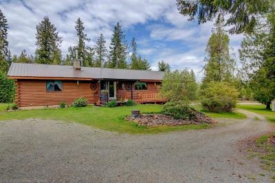 Priest River Single Family Home For Sale: 1840 Old Priest River Rd