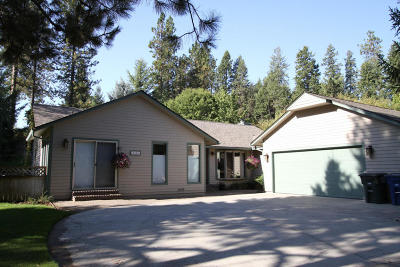 Coeur D'alene Single Family Home For Sale: 2454 E Cherry Hill Rd