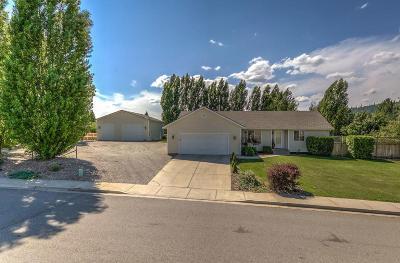 Rathdrum Single Family Home For Sale: 14695 N Stevens St